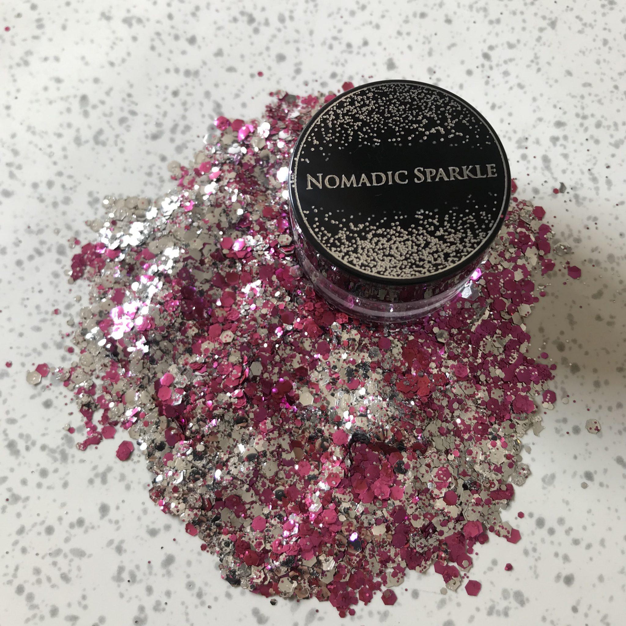Bio Glitter – Silver &  Pink
