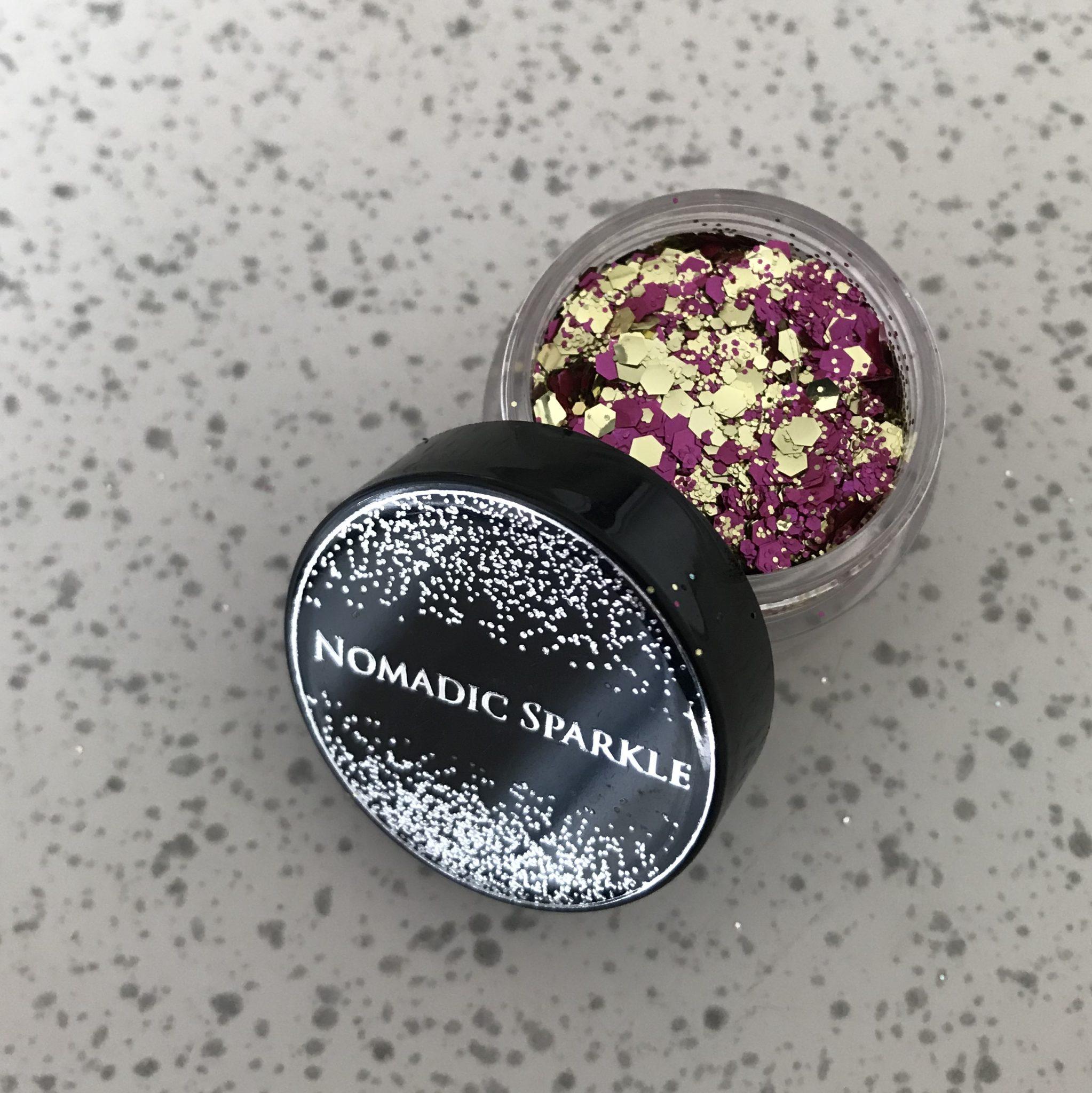 Bio Glitter – Gold & Pink