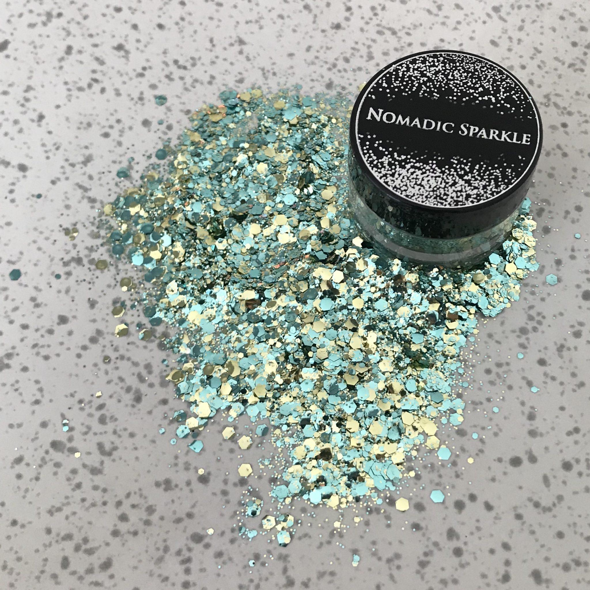 Bio Glitter – Gold & Blue